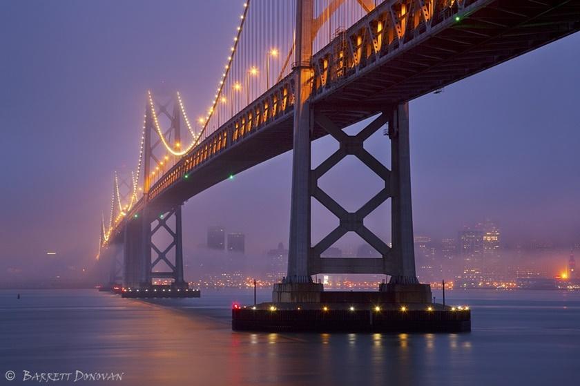 Красивые фотографии тумана в Сан Франциско, США 0 14227c c17b4df1 orig