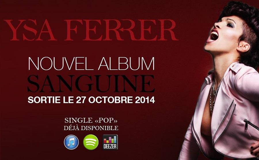 Французская поп-звезда Ysa Ferrer анонсировала новый альбом Sanguine