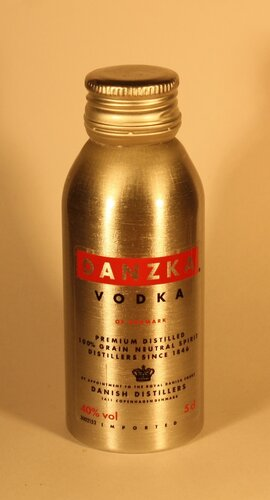 Водка Danzka Vodka of Denmark