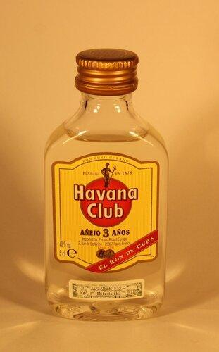 Ром Havana Club Anejo 3 Anos El Ron De Cuba