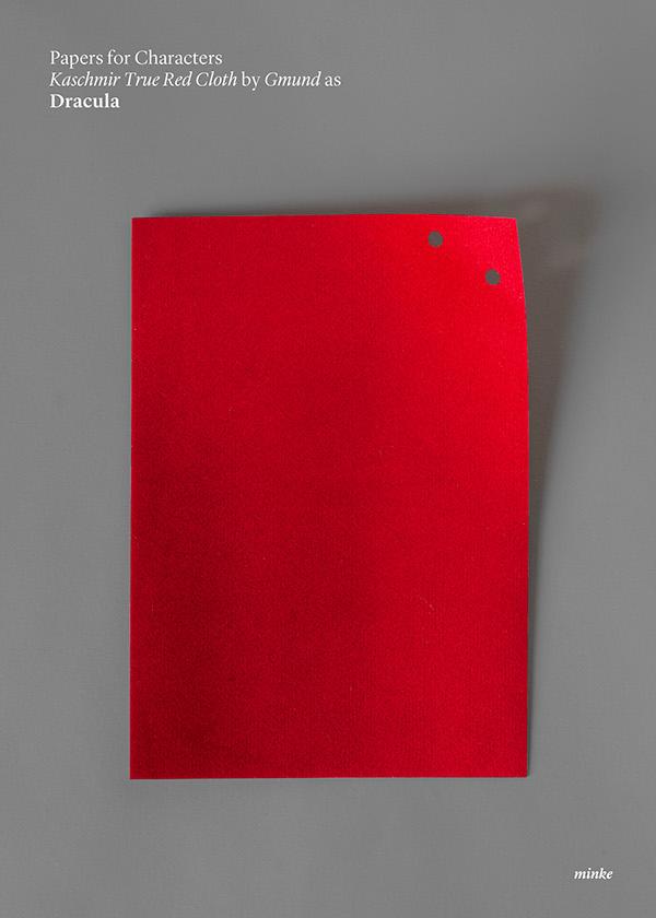 """Студия Atipo для агентства Minke. Серия постеров """"Papers for characters"""""""