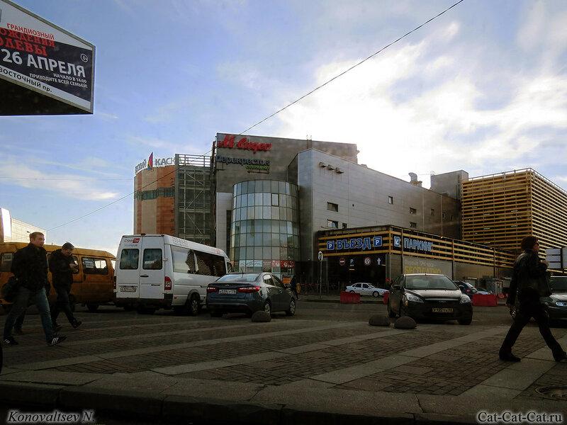 Метро Ладожская, Вокзал