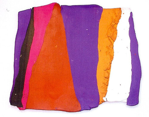 Обложка блокнота из полимерной глины