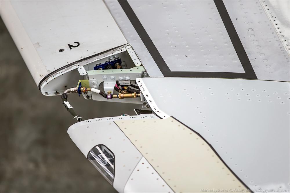 Замена законцовки на А320 на шарклет. S7 инжиниринг