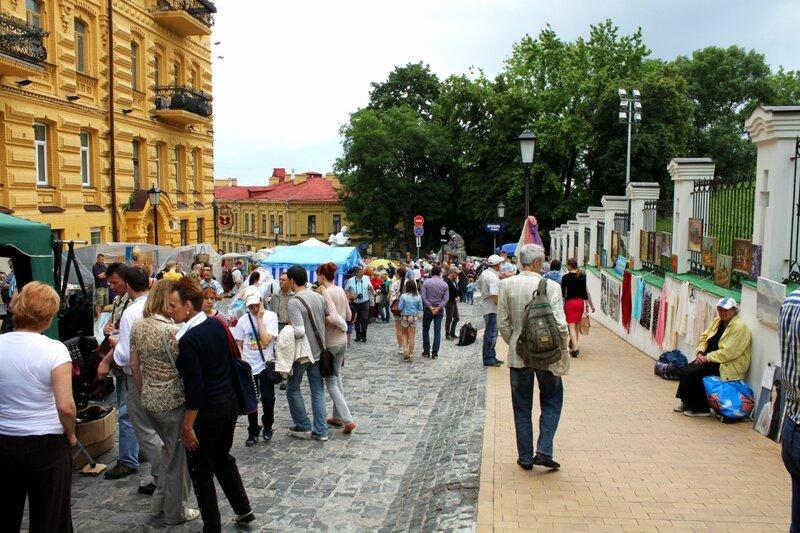 День Киева 2014 на Андреевском спуске