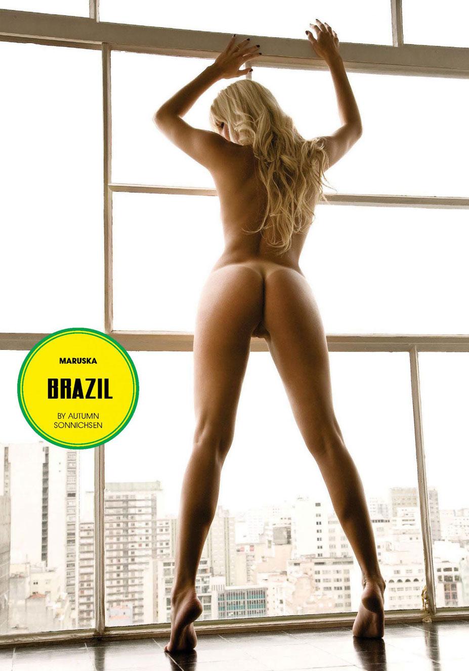 Brazil / Maruska - Playboy South Africa june 2014 / FIFA Fever