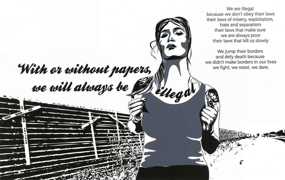 С документами или без, мы всегда будем оставаться на нелегальном положении (Irina Crisis)