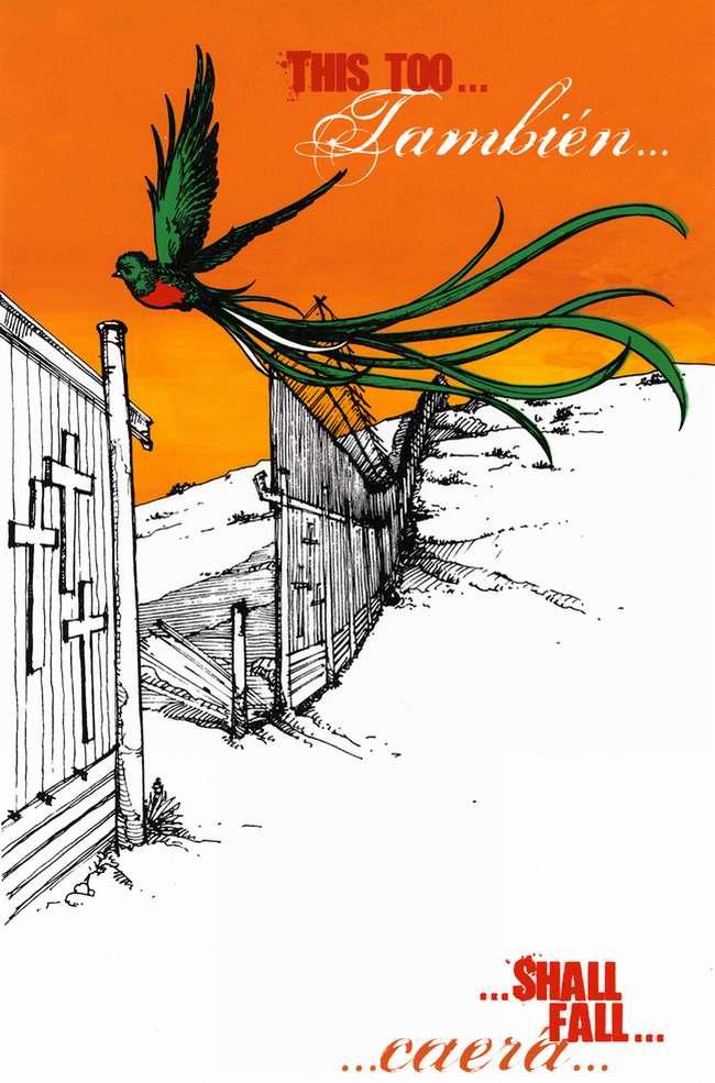 Если мы будем сильно хотеть, то стены когда-нибудь упадут (Fernando Marti)