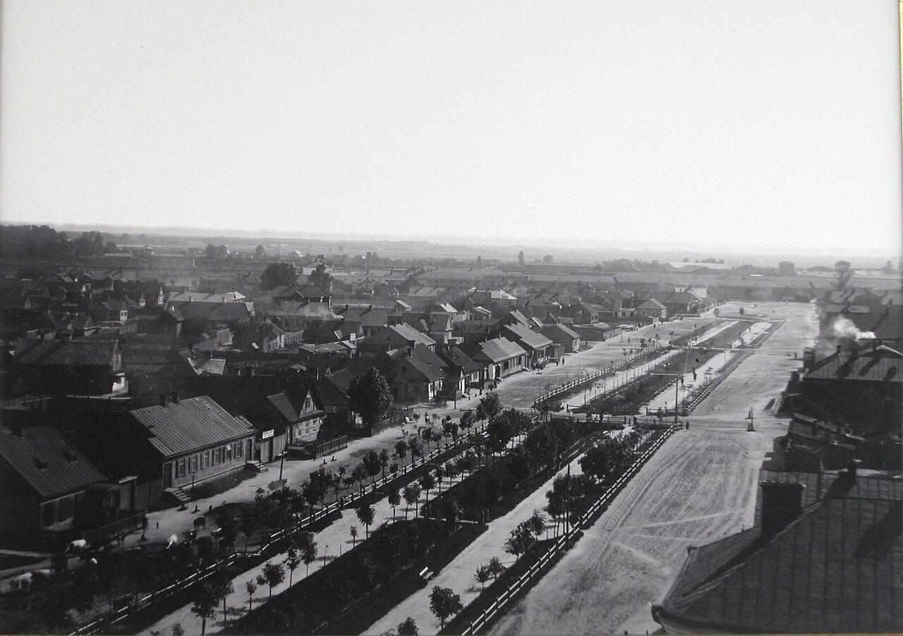 Вид жилых домов на Новом бульваре. 1900