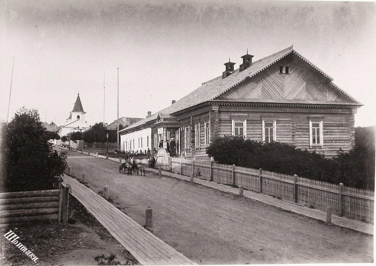 33. Вид на здание Корсаковского Окружного Полицейского управления