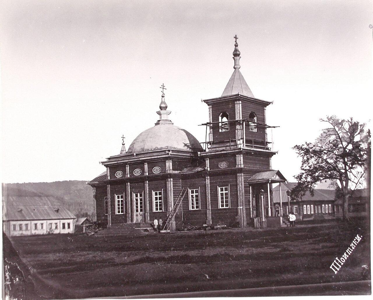 44. Вид церкви села Рыковское