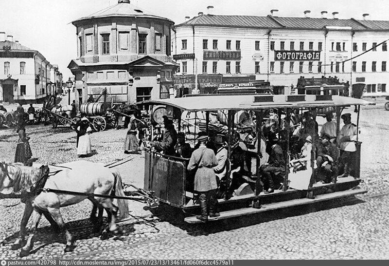 Дореволюционная Москва, 1900 год