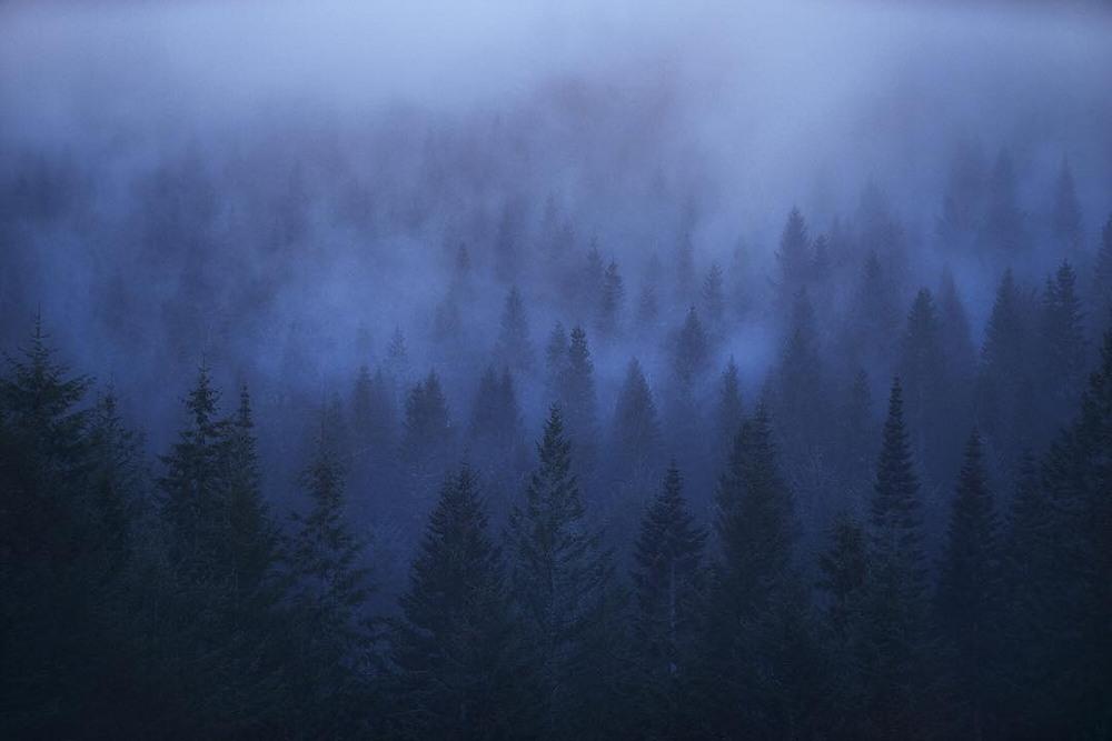 Красивые пейзажи на снимках Ромена Маттеи
