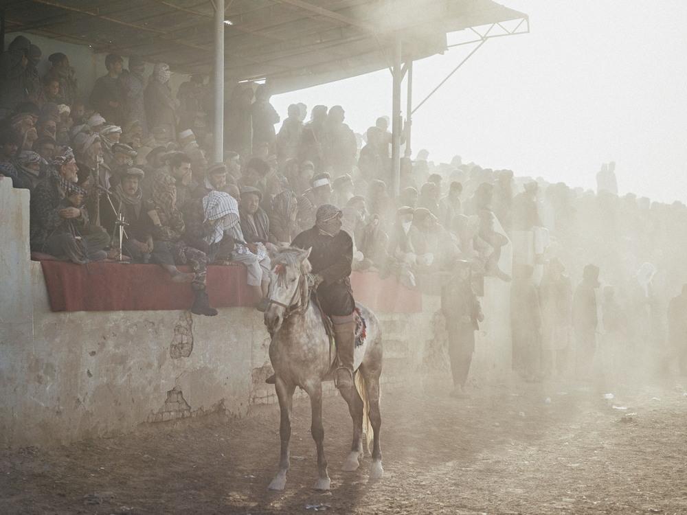 Древняя афганская забава Бузкаши