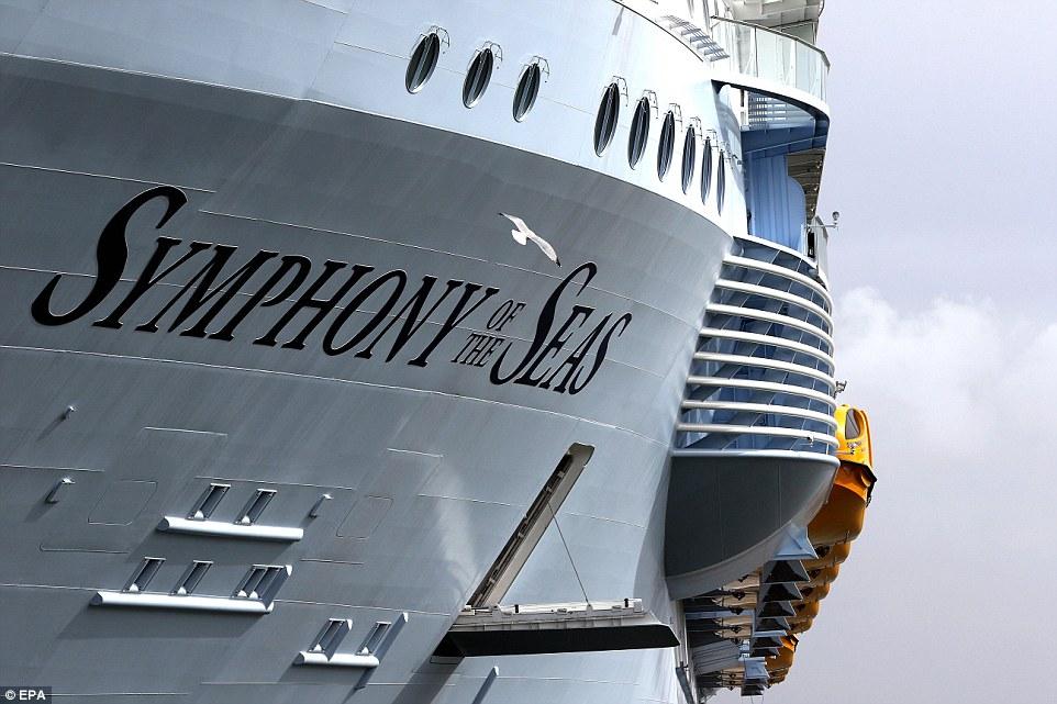 Построен самый большой круизный лайнер, стоимостью $1 млрд