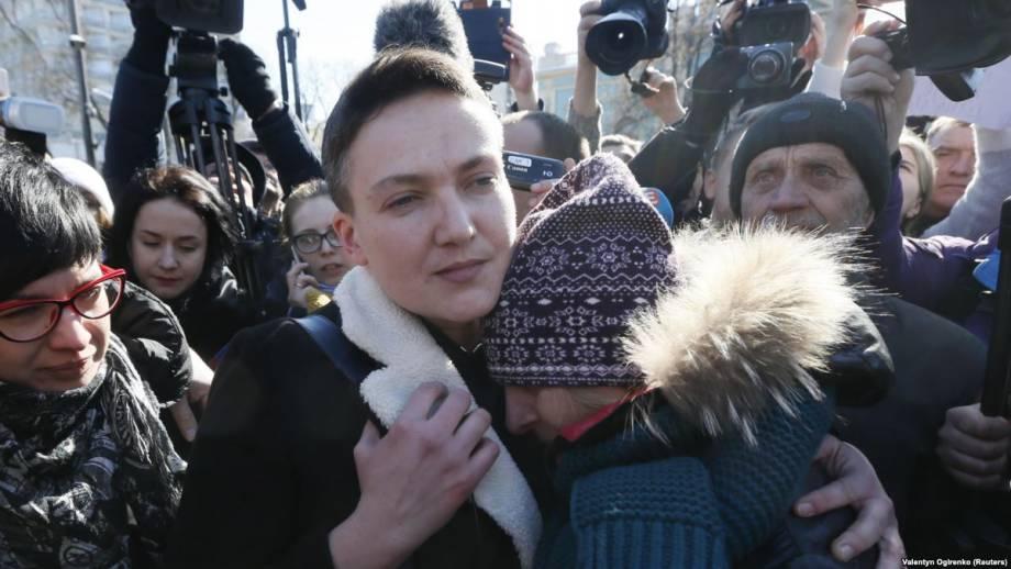 ГПУ: Луценко объявил подозрение Савченко