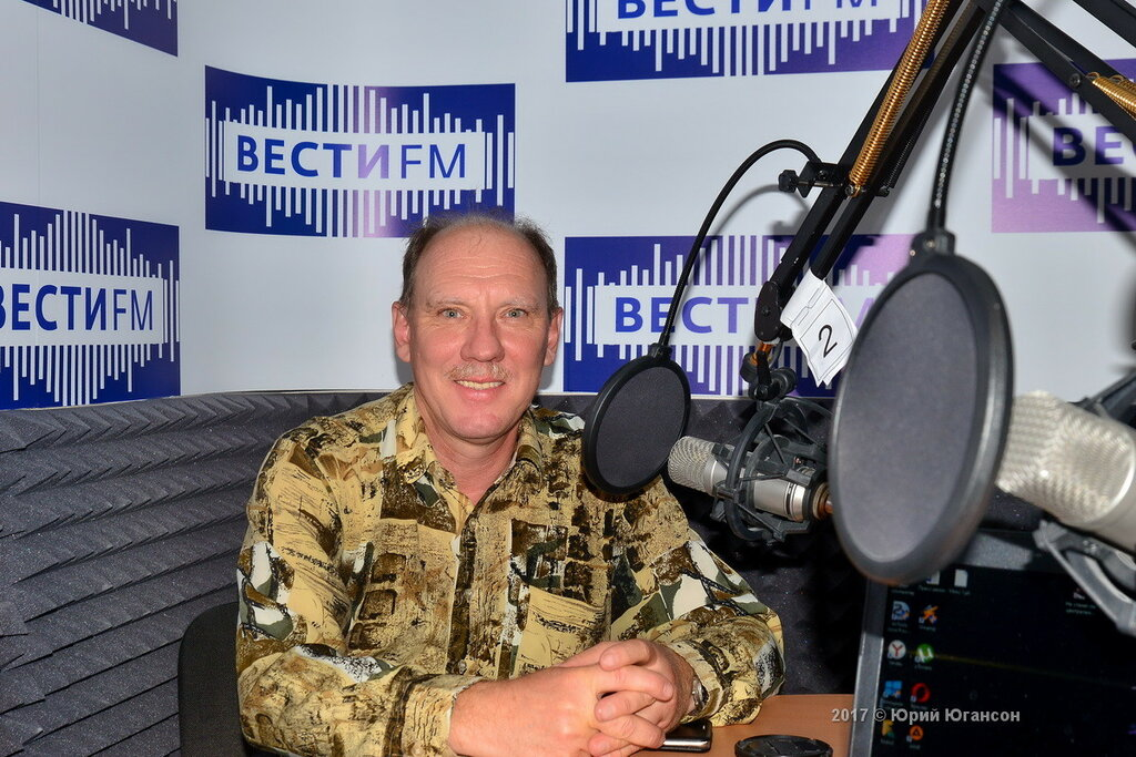 Интервью на радио Вести ФМ