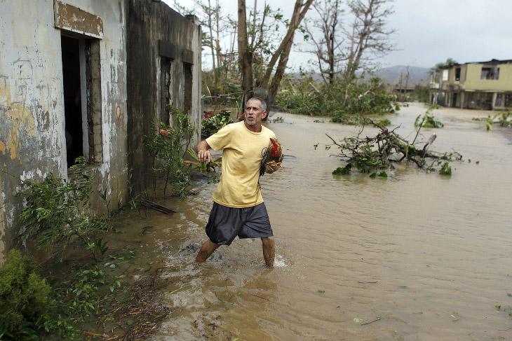 «Никогда раньше подобного не происходило: удар стихии почувствует весь остров». (Фото Hector Retamal