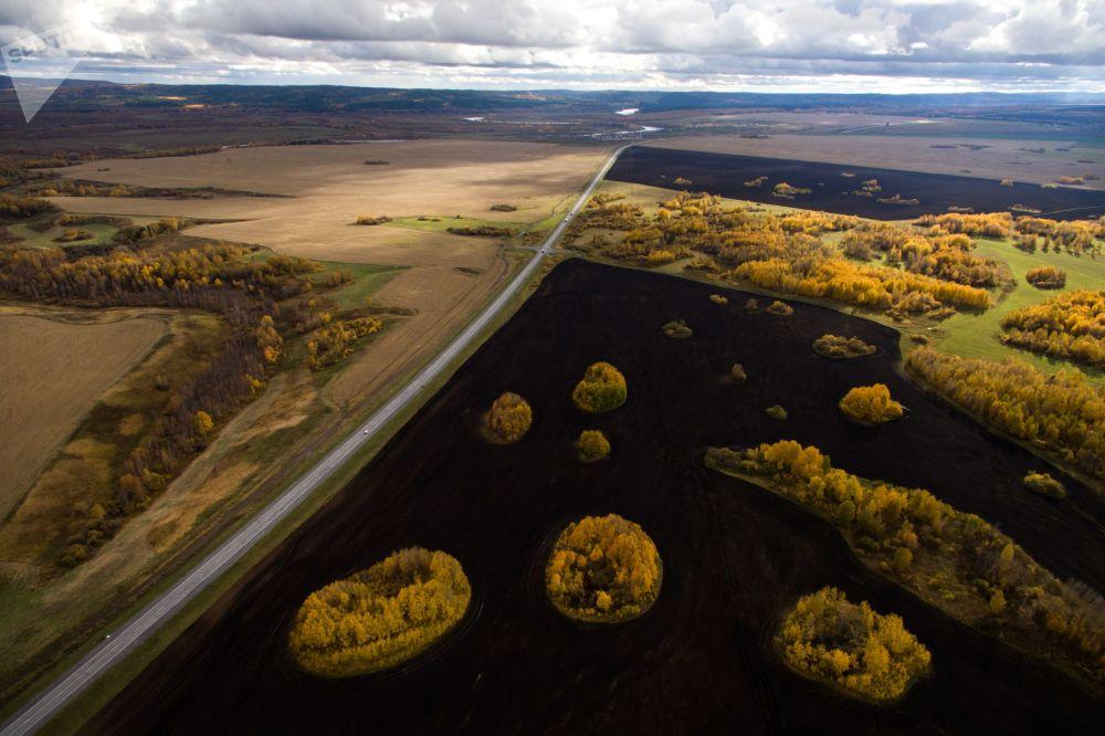 Река в Красноярском крае.