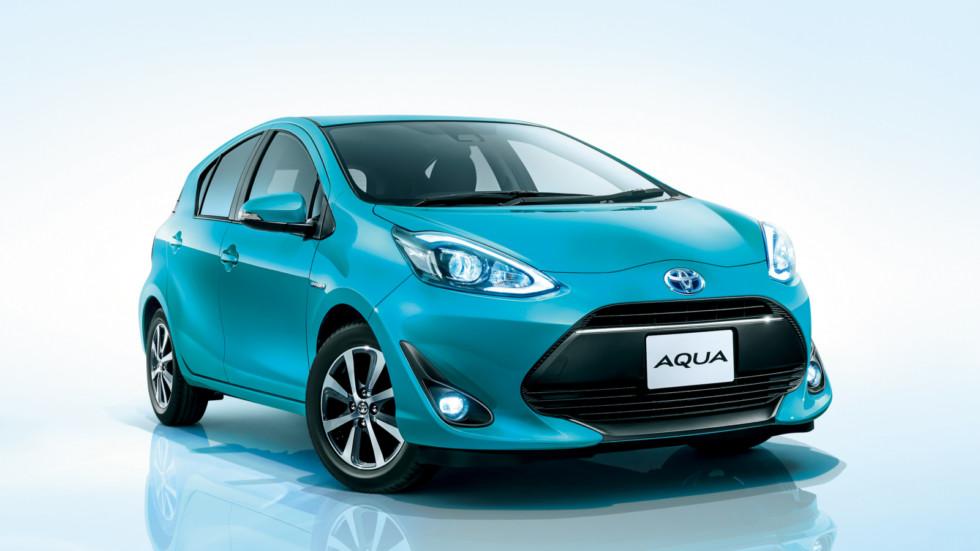Toyota Aqua    Руководство приняло решение о смене стратегии в Японии. К 2025 году продуктовая