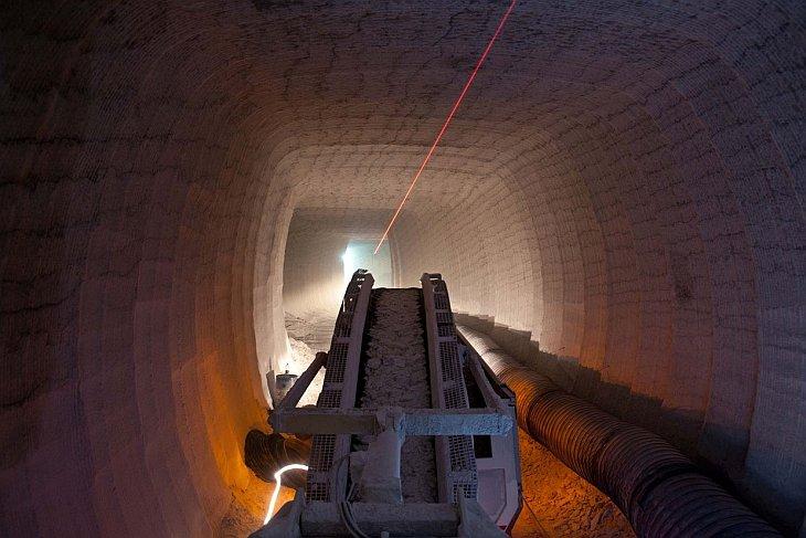 Белое золото Сицилии: соляная шахта (31 фото)