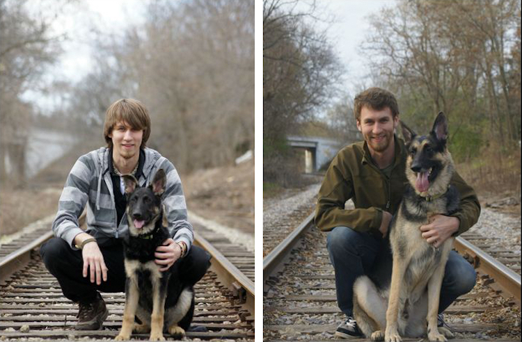 До и после: кто вырастает из милых, забавных щенков (17 фото)