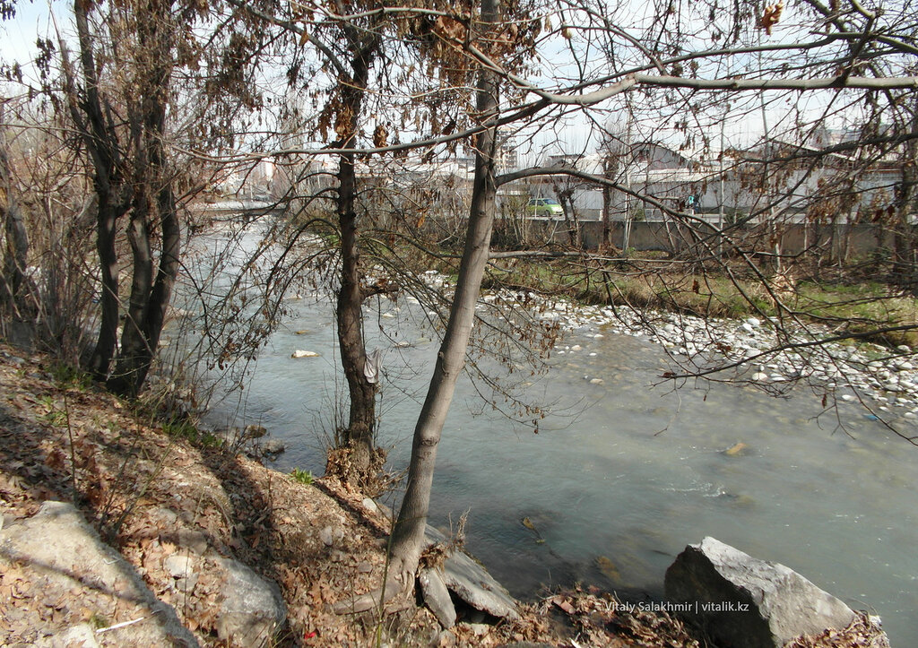 Река Ак-Бура, Ош