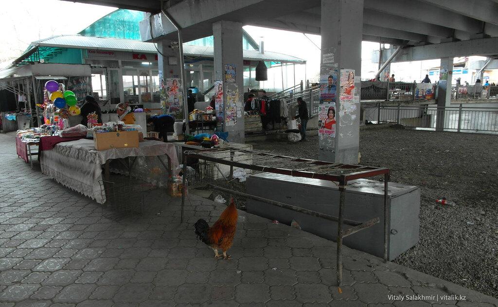Рынок под мостом, Ош