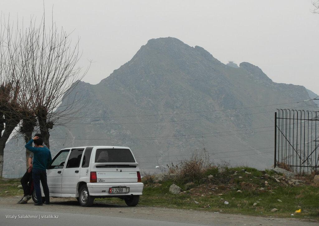 Гора в Оше
