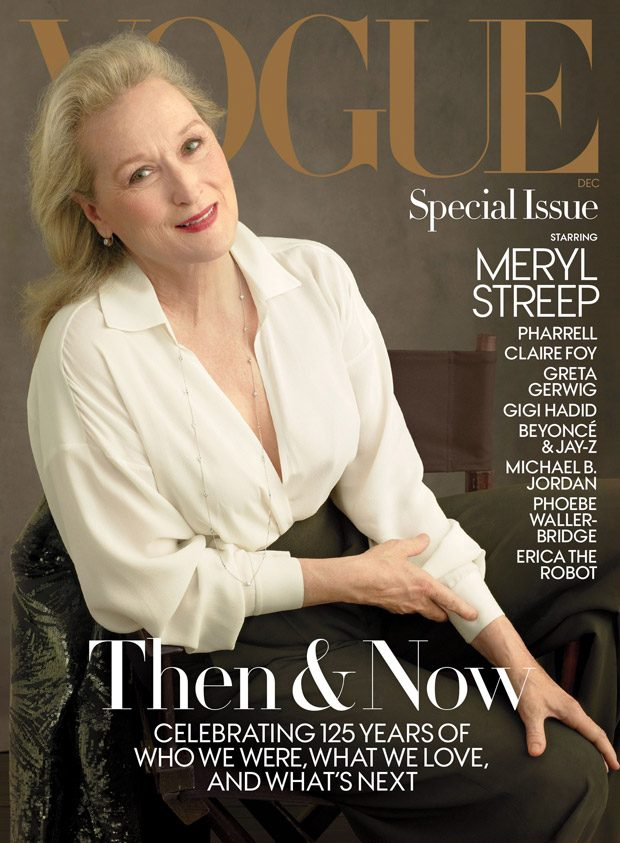 Meryl Streep Covers American Vogue December 2017 Issue (2 pics)