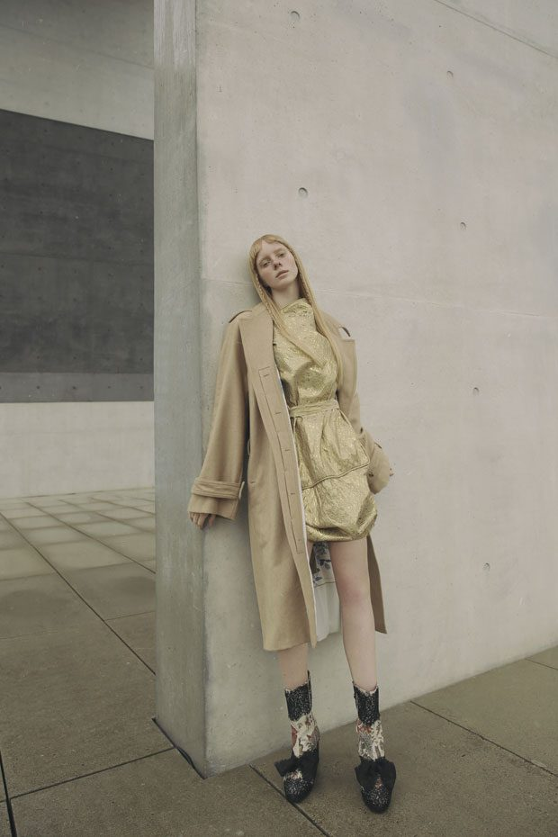 Coat Michael Sontag Dress Vivienne Westwood Boots Desigual