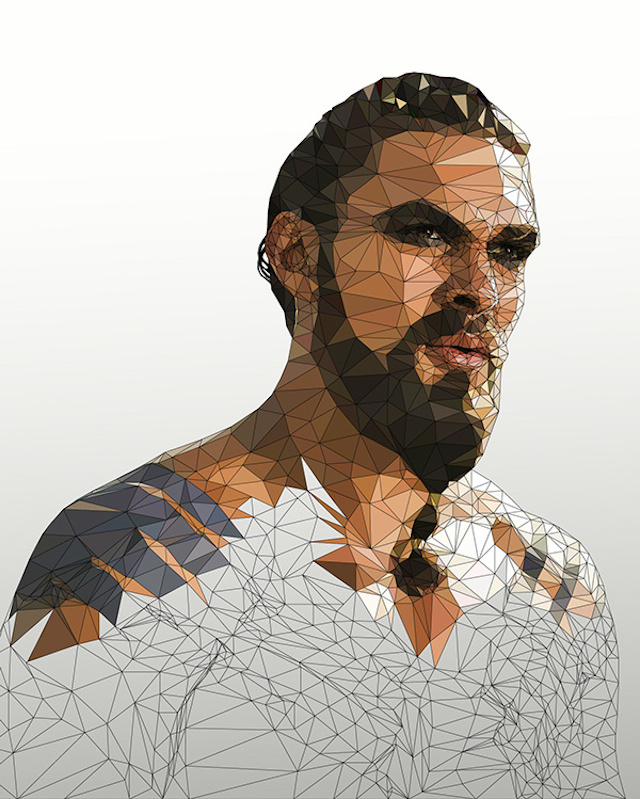Low Poly Portraits of Characters from Game of Thrones