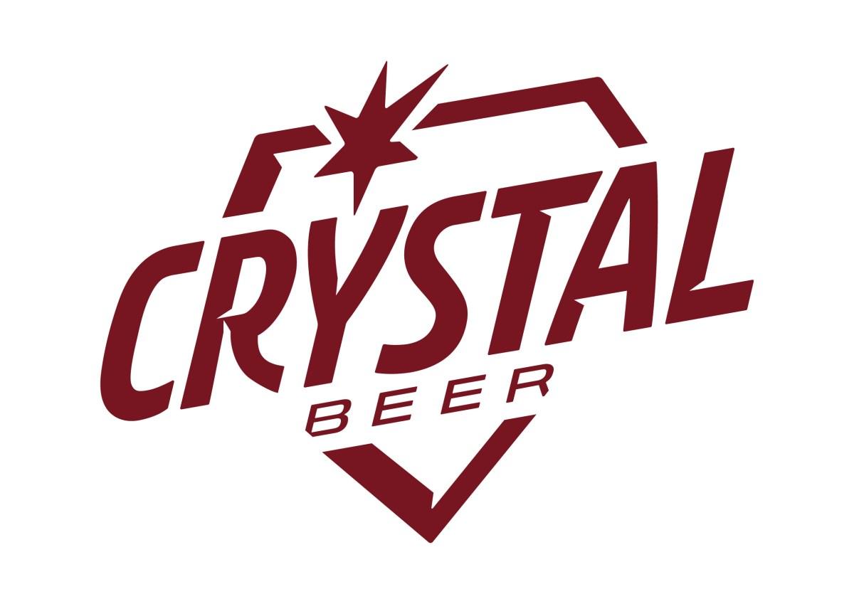 Evolucao da identidade visual da cerveja Crystal