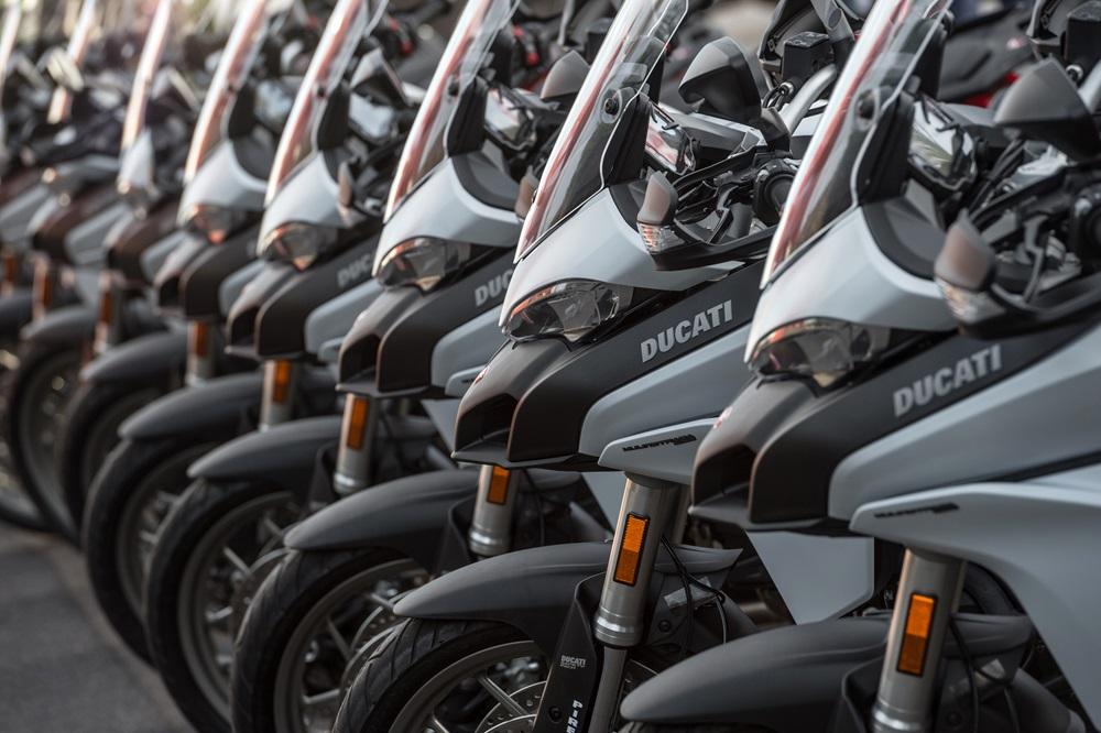 В 2017 году компания Ducati продала 55 871 мотоциклов