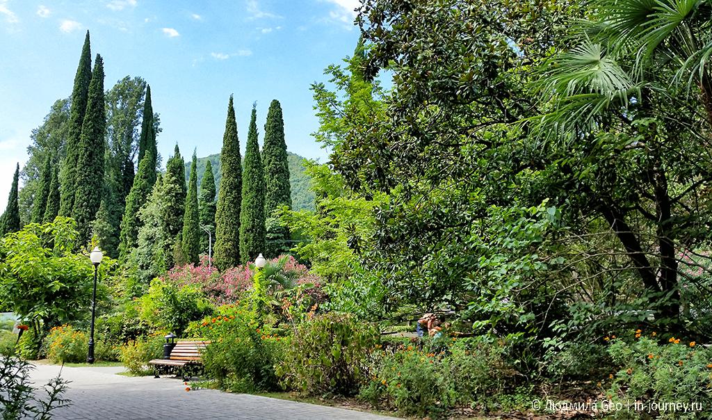 красота природы в Абхазии