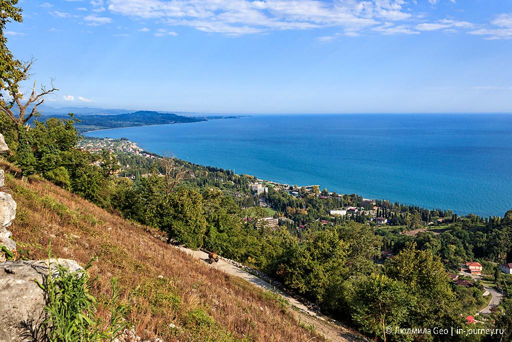 побережье Абхазии
