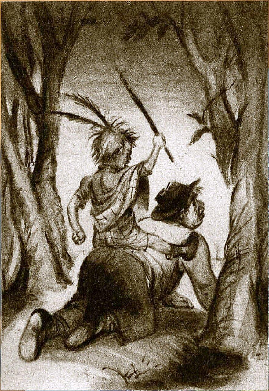 Рисунки художника Ф. ПОЛЕЩУК к произведению О Генри. Вождь краснокожих (4).jpg