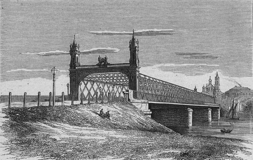 753123 Бородинский мост Фото - Торлецкий А., рисунок - Тихомиров А., гравёр - Крыжоновский К..jpg