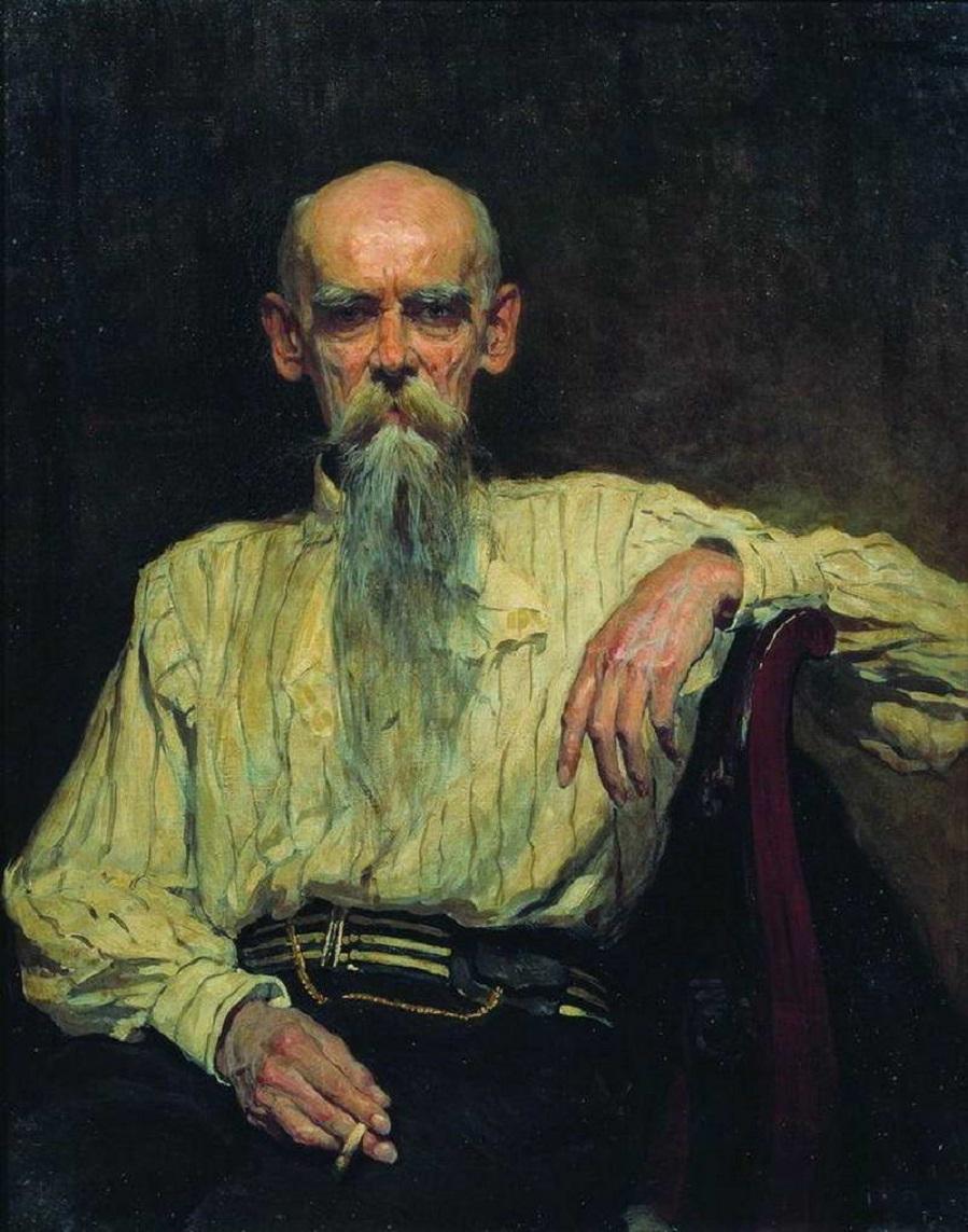 Портрет художника Ефима Ефимовича Волкова.