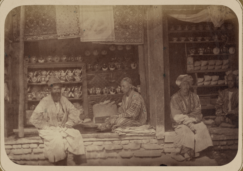 Мелочная торговля. Продажа чая