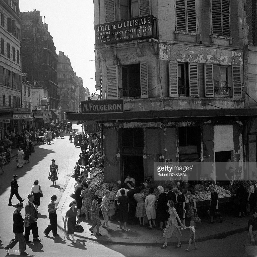 1947. Отель Луизиана в Сен-Жермен-де-Пре