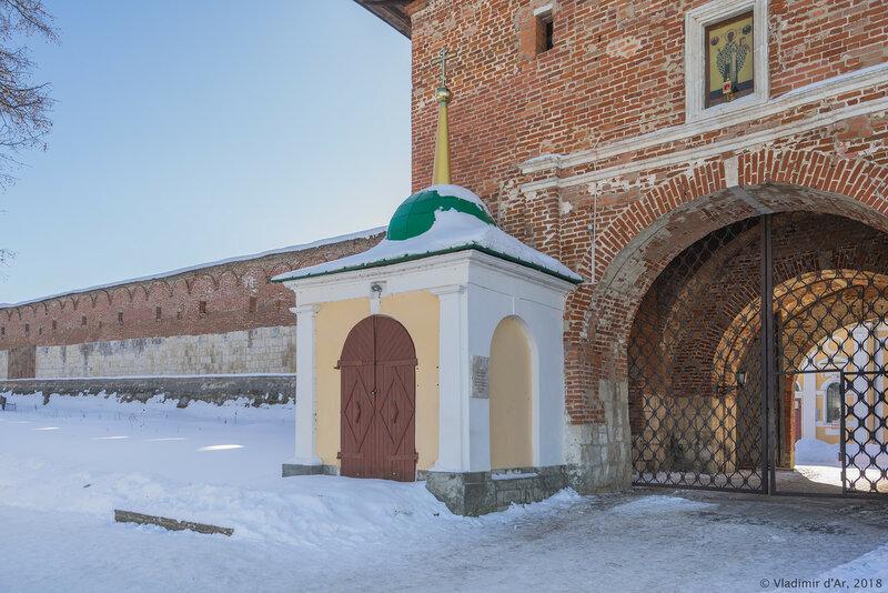 Часовня Николая Чудотворца. Зарайский кремль.