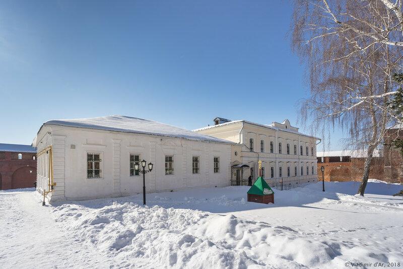 Городской магистрат. Основное здание. Музей. Зарайский кремль.