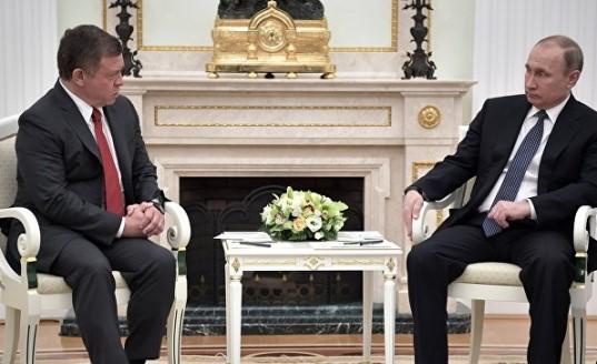 Король Иордании планирует встретиться с Путиным в Москве 15 февраля