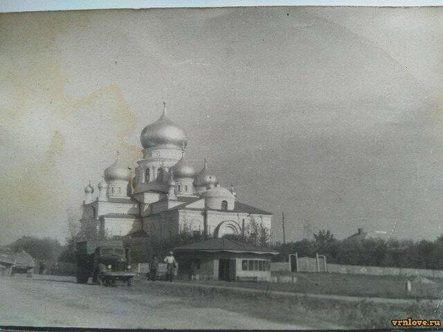 Воронежская обл. п.г.т. Анна. Август 1974года.