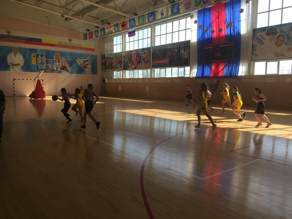 Кораблинские баскетболистки заняли 2 место на открытом первенстве среди девушек 2003 г.р. и моложе в г. Михайлов