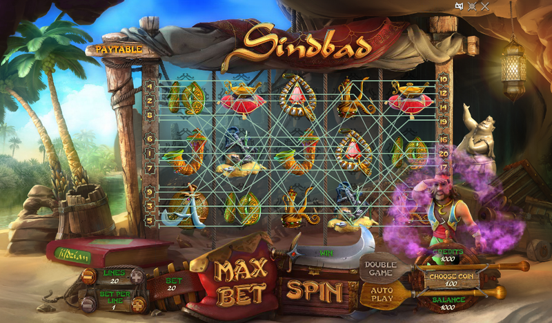 sindbad slot the main game