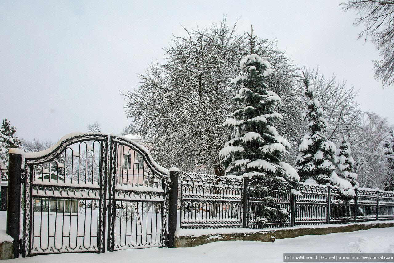 Зимний Гомель