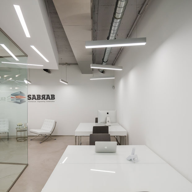 Take a tour of the new Office Space by SABRAB