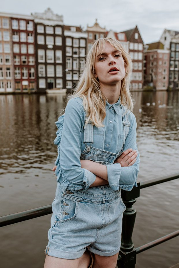 DESIGN SCENE STYLE: Denim Takeover in Amsterdam by Liselotte Fleur (16 pics)